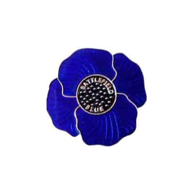 The Victoria Cross Trust Blue Poppy